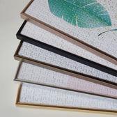 窄邊拼圖相框鋁合金相框畫框300片500片1000片2000片拼圖框