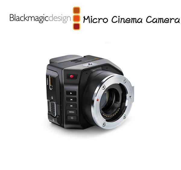 黑熊館 Blackmagic 黑魔法 Micro Cinema Camera 微型數位電影攝影機