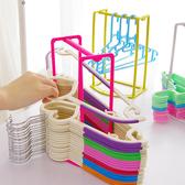 ✭米菈生活館✭【L147】衣架整理收納架 吊衣架 居家 陽台 晾曬 衣物 置物 創意 組裝 手提 移動