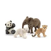 Schleich 史萊奇 野生小動物禮盒組