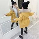 女童棉衣免運新款韓版洋氣兒童加厚棉服中長款冬裝女寶寶棉襖外套
