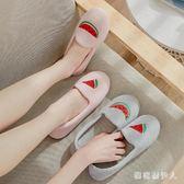 月子鞋 春季產后包跟孕婦拖鞋夏季薄款軟底室內厚底防滑產婦鞋 BT3099【棉花糖伊人】