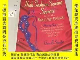 二手書博民逛書店英文原版:high罕見fashion sewing secret