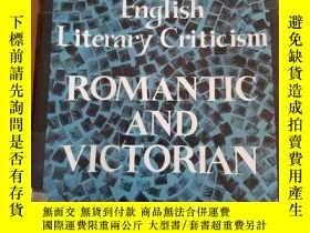 二手書博民逛書店English罕見Literary Criticism Roma