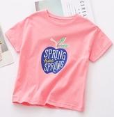 女童T恤 女童短袖T恤兒童夏裝2020新款寶寶純棉打底衫中小童洋氣半袖潮【快速出貨】