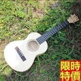 烏克麗麗ukulele-電箱版23吋椴木合板四弦琴樂器3款69x17[時尚巴黎]