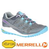 【MERRELL 美國】ANTORA 女運動健行鞋『灰/天空藍』066126 機能鞋.多功能鞋.休閒鞋.登山鞋