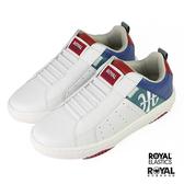 Royal Elastics Manhood 白色 皮質 套入 休閒運動鞋 男款 NO.B1527【新竹皇家 06501-045】