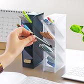【BlueCat】素色L型直立式四格置物格 桌面收纳盒