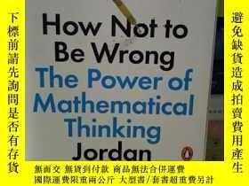 二手書博民逛書店How罕見Not to Be Wrong:The Power o