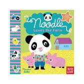 Noodle Loves The Farm:Noodle 的農場探險 觸摸書(美國版)