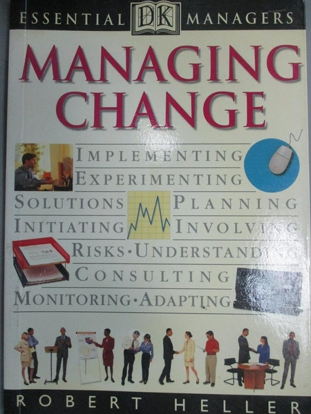【書寶二手書T3/財經企管_KIH】Managing Change (Essential Managers)_Rober