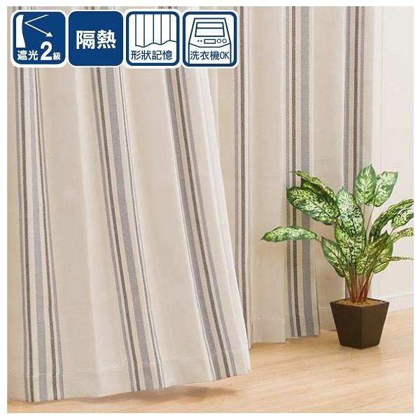 遮光2級 隔熱 窗簾 BREAK 150×230×1 NITORI宜得利家居