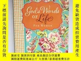 二手書博民逛書店平裝罕見God s Words of Life for Women 上帝對女人的生命之言Y408424 ZON