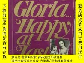 二手書博民逛書店葛洛莉婭·範德比爾特傳罕見Little Gloria:Happy