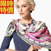 絲巾 真絲質女配件-桑蠶絲風靡現代感都市氣息長圍巾4色67s32【巴黎精品】