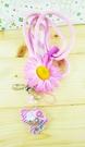 【震撼精品百貨】Hello Kitty 凱蒂貓~造型手機掛繩-粉帽子