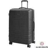 29吋行李箱 29吋硬殼旅行箱 ALAIN DELON 亞蘭德倫皇家霧面 黑色 淘樂思