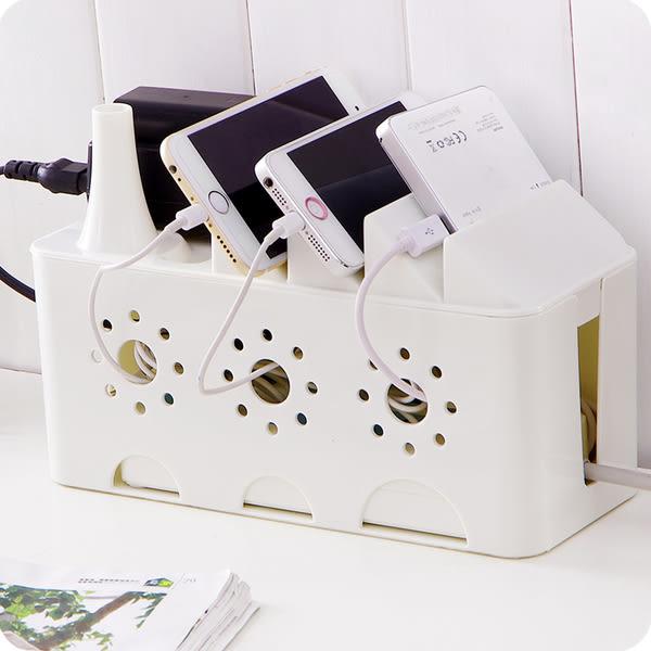 電源線收納盒 (遇缺色採隨機出貨)