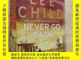 二手書博民逛書店Never罕見go back (by Lee Child)Y14