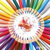 水溶性彩鉛專業手繪彩鉛筆繪畫筆初學者畫畫套裝學生用成人 qz677【歐爸生活館】