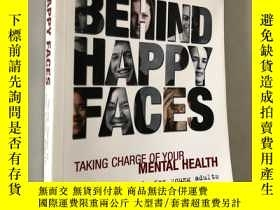 二手書博民逛書店BEHIND罕見HAPPY FACESY5919 MENTAL HEALTH VOLT