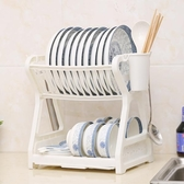買一送一 創意廚房置物架用品晾洗放瀝水碗架碗柜碗碟碗筷盤收納盒餐具架