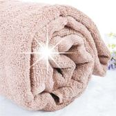 【MIT台灣製造】24兩純棉毛巾被200x125cm(奶茶色)-單件 [48096]