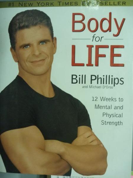 【書寶二手書T9/養生_QFN】Body for Life_Bill Phillips