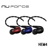 NuForce HEM4 可換線監聽級入耳式耳機