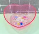 【震撼精品百貨】U-Sa-Ha-Na_花小兔~三麗鷗花兔子塑膠碗/美耐皿碗-透明桃#04534