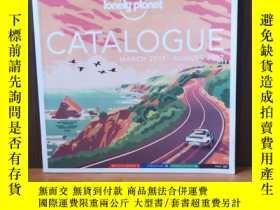 二手書博民逛書店LONELY罕見PLANET:CATALOGUE (MARCH 2017-AUGUST 2017)Y12800