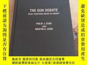 二手書博民逛書店the罕見gun debate 槍支辯論Y25607