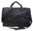 HAPI+TAS 摺疊小旅行袋 - 星空黑