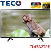 《送HDMI線》TECO東元 43吋FHD液晶電視TL43A2TRE附視訊盒