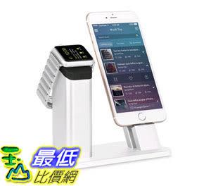[105美國直購] 鋁充電座 ziku Aluminum Charging Stand Dock Station Cradle Holder for Apple Watch iPhone B018Y7HEZE