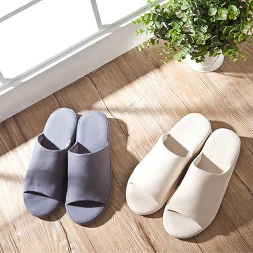 UCHINO 低反發 室內拖鞋 柔軟舒適 可水洗 吸水快乾 家居鞋 腳長23-25CM 日本內野