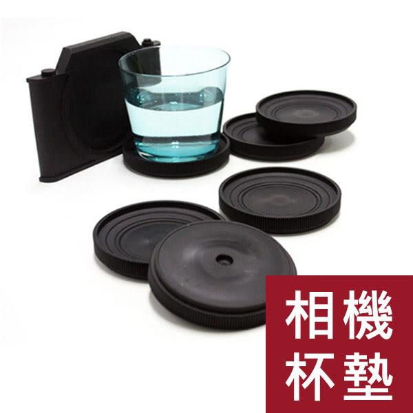 【現貨】創意仿真復古相機杯墊/杯子杯墊/茶杯杯墊/鏡頭蓋杯墊/隔熱墊/交換禮物