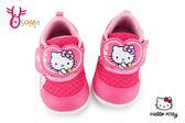 Hello kitty 學步鞋 小童 透氣 MIT 寶寶運動鞋 H7801#桃紅◆OSOME奧森童鞋
