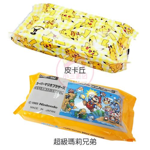 精靈寶可夢皮卡丘/超級瑪利兄弟/Hello Kitty/美樂蒂/哆啦a夢 濕紙巾(80枚入)【小三美日】