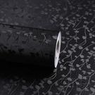 自黏背膠黑色不透光 遮光貼紙窗戶玻璃貼膜隔熱防曬不透明玻璃紙雙十二全館免運