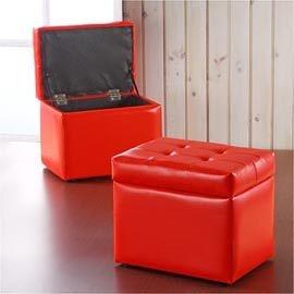 《寶拉》掀蓋式-多功能收納椅