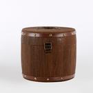 復古茶葉木桶小青柑茶葉罐木製茶葉包裝禮品盒便攜收納盒實木罐 蜜拉貝爾