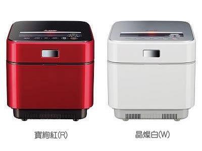 MITSUBISHI 三菱 電機蒸氣回收IH電子鍋 6人份【 NJ-EXSA10JT-W 】**免運費**