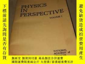 二手書博民逛書店PHYSICS罕見IN PERSPECTIVE VOLUME 1 透視物理學 第1卷Y222470 看圖 看圖