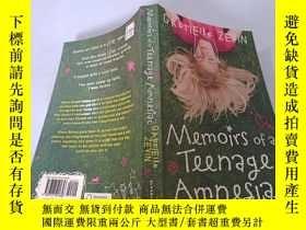 二手書博民逛書店Memoirs罕見of a Teenage Amnesiac:青少年健忘癥患者回憶錄Y200392
