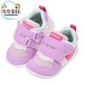《布布童鞋》Moonstar日本Hi系列粉花色寶寶機能運動鞋(12.5~15公分) [ I1QS62F ]