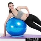 瑜伽球 瑜伽按摩球健身球瑜伽球防爆加厚型環保體操大龍球8件套