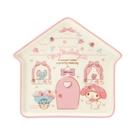 【震撼精品百貨】My Melody 美樂蒂~~Sanrio-三麗鷗~ 屋型盤子-粉*12168