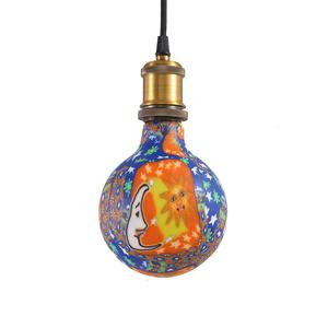塗鴉5W LED燈泡-星空